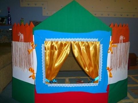 Кукольный театр дома своими руками фото