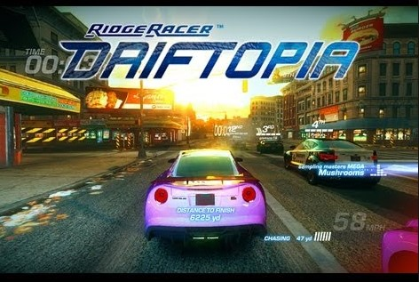 Новые гонки для PC и PS3 Ridge Racer Driftopia